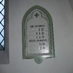 Bemalet ravle i Sædder Kirke