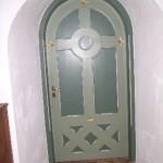 Døren til våbenhuset - Sædder Kirke