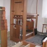 Den sydlige orgelramme på det nye orgel