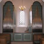 Det nye orgel i Sædder Kirke 2006