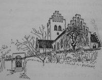 Herfolge-kirke-tegning