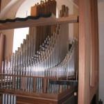 Orgelpiberne i det nye orgel