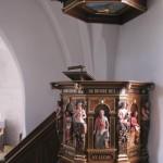 Prædikestolen i Sædder Kirke