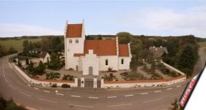Sædder Kirke panorama