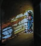 Glasmosaik i Sædder Kirkes kor